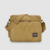 Vintage style men waxed canvas laptop bag canvas messenger bag
