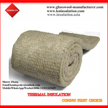 Rockwool Blanket With Hot Galvanized Wire Mesh Buy Rock