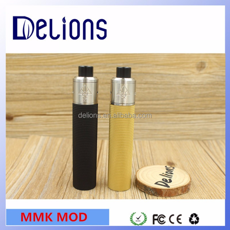 Alibaba express newest products skill rda/Goon rda/mmk mechanical mod factory price mmk mod