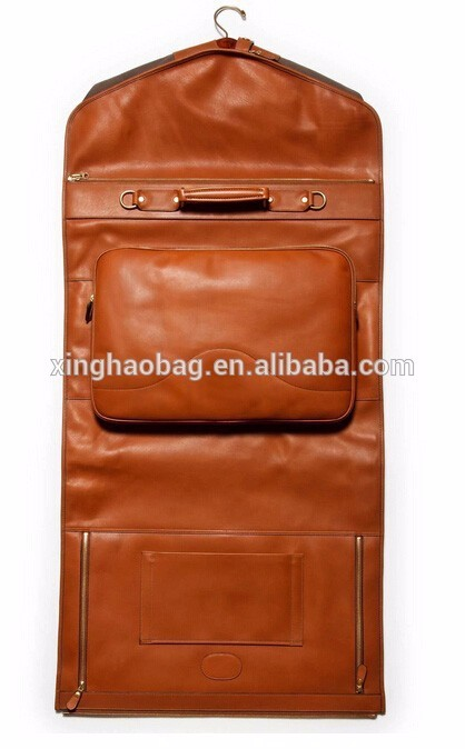 eb8671f9e4d8 High Quality Men Leather Luxury Suit Carrier Garment Bag For Traveller  Storage Usage Garment Bags For Dresses - Buy High Quality Genuine Leather  ...