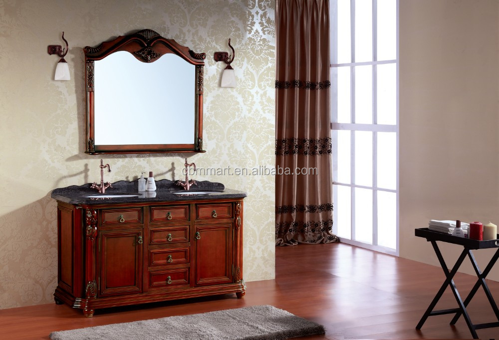 classic mirror solid wood bathroom cabinet b 8020 buy