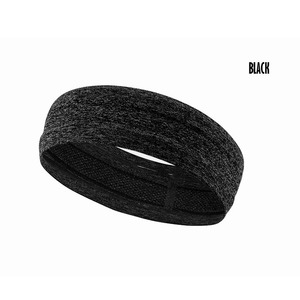 Wholesale elastic sport head band men with silicone gel for running