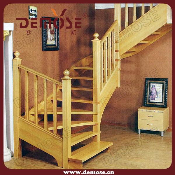 de madera de lujo pasos escaleras pasamanos demose
