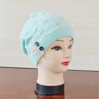 b468261733e62 Casual Brand women Winter Hat Beanie Hats Warm Knitted Bonnet New Arrival  Beanies