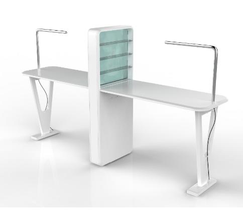 doble al por mayor de muebles de saln de uas mesa de manicura tcnico de escritorio
