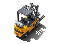 Samuk 3ton Gas Forklift truck with Japan engine