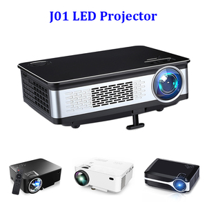 Support 4k high brightness home theater 3d led dlp projector