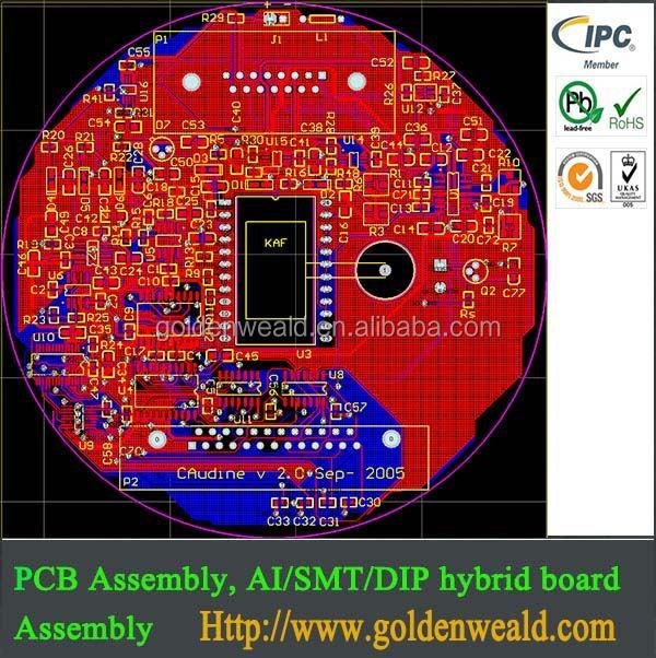 Pcb Assembly Process Flow Chart Electronics Pcba Manufacturerpcba