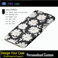 Luxury custom printing cell phone shell for iphone 6 mini housing,low price flower phone case for iphone 6 back housing
