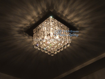 Moderne Kristallen Plafondlamp Gangpad Licht Kleine Led Hal Lamp ...