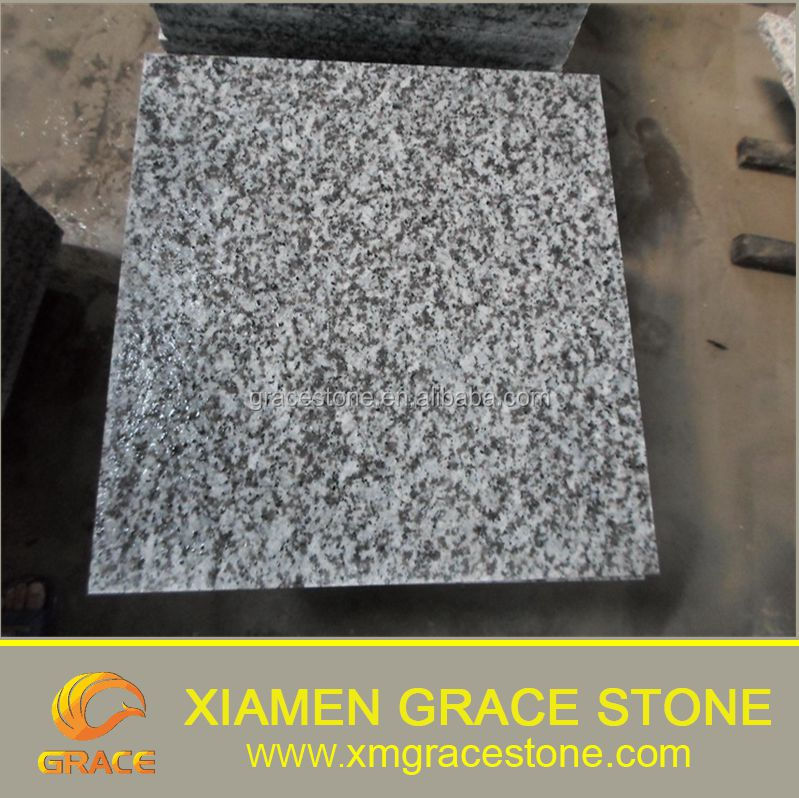 Guangdong Flamed Surface White Sparkle Granite Floor Tiles Buy