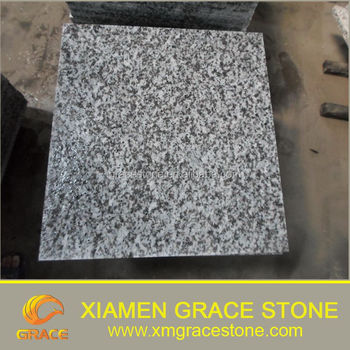 Guangdong Flamed Surface White Sparkle Granite Floor Tiles - Buy ...