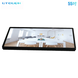 42-85 inch 4K VR 3D digital screen high brightness interactive advertising LG touch screen all in one gaming PC/board