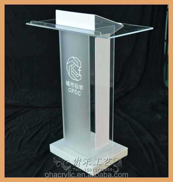 Glass Pulpit For Church Acrylic Pulpit As Furniture Pulpit Designs ...