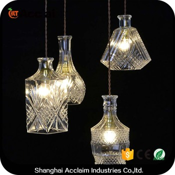 Selfhood Classic Glass Chandelier Globe Light Covers Crystal Lamps ...
