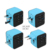 Otravel USB Type C Adapter Worldwide Travel Adapter Charger US UK EU AU Dual USB Charging Ports Universal AC Socket -Safety fuse