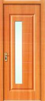 unique bathroom composite wooden door white PVC door