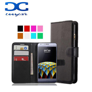 For LG X Cam K580/F5/F6/F70/L35/L50/L60 5.2 inch Flip Protective Phone Case Back Cover Skin