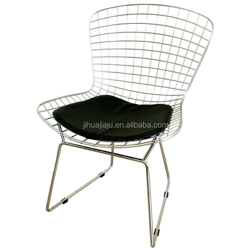 modern harry bertoia wide chair/wide side chair/double wide chair