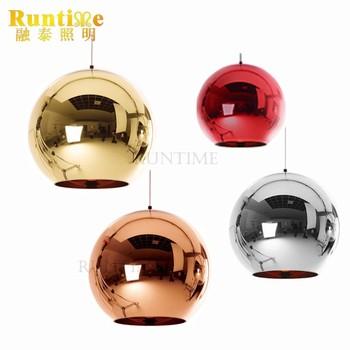 Verwonderlijk Moderne Spiegel Glas Bal Cooper / Rose Gouden Hanger Lamp Spiegel YA-65
