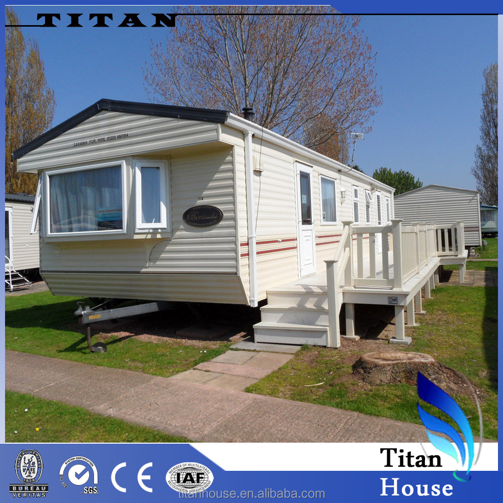 Easy Assemble Customized Static Caravan for Sale