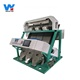 high sorting accuracy 3 chutes pearl barley optical color sorter machine