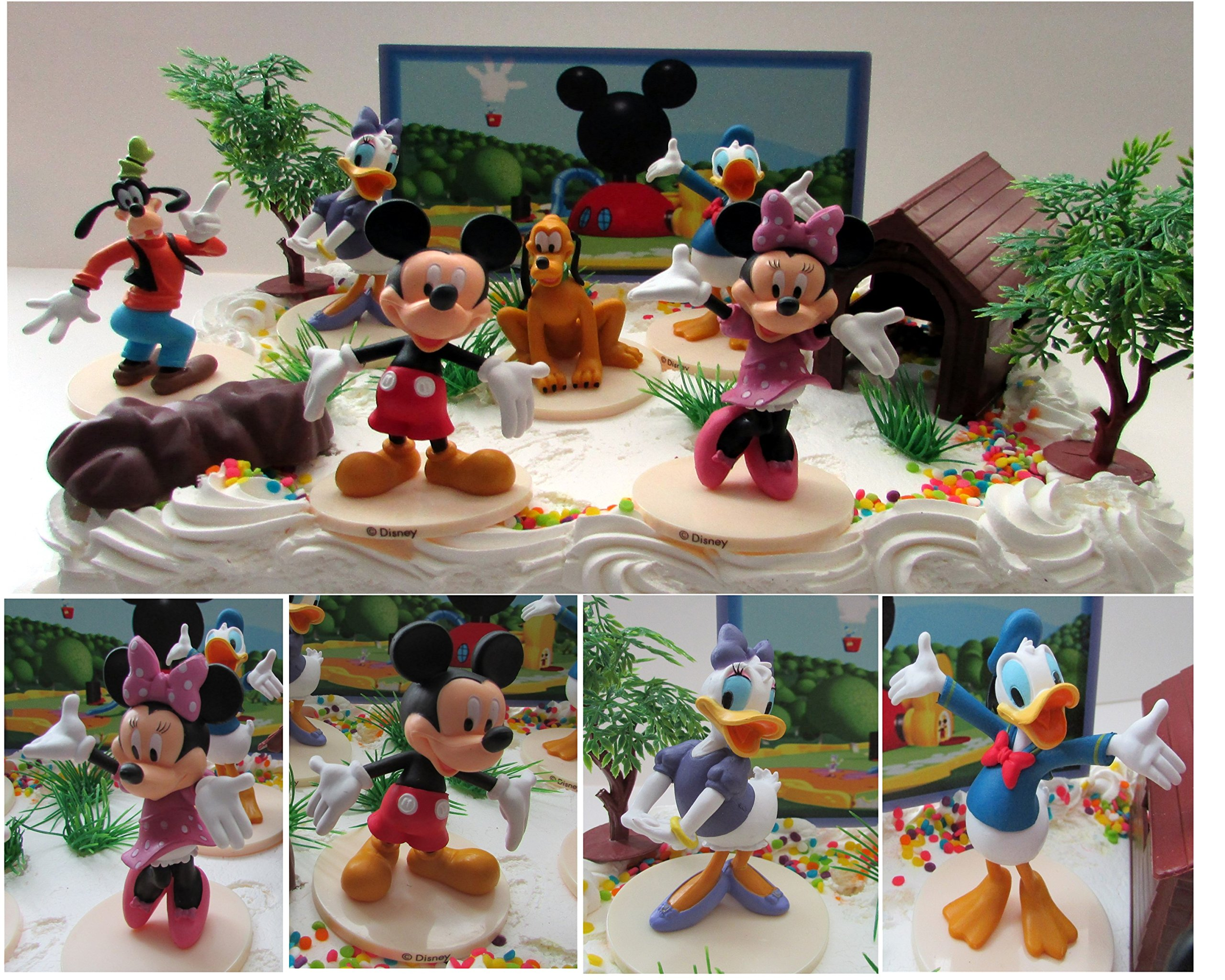 Buy Mickey Mouse Clubhouse Birthday Cake Topper Featuring Mickey