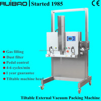 Gas Filling stand vacuum packaging machinery