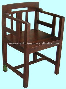 Wooden Arm Chairindian Wooden Furnitureoffice Chairliving Room