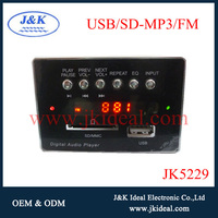 JK5229 usb sd mp3 fm player module