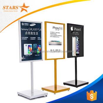 Supplier Gold / White / Black Iron Frame Display Stand,Easel Standee ...