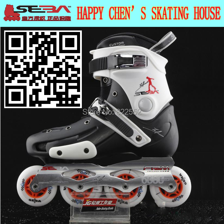 Seba егт взрослых роликовых коньках обувь роликовых коньках слалом коньки торможения катание спортивной обуви высокое качество Patins слайд хоккею майка