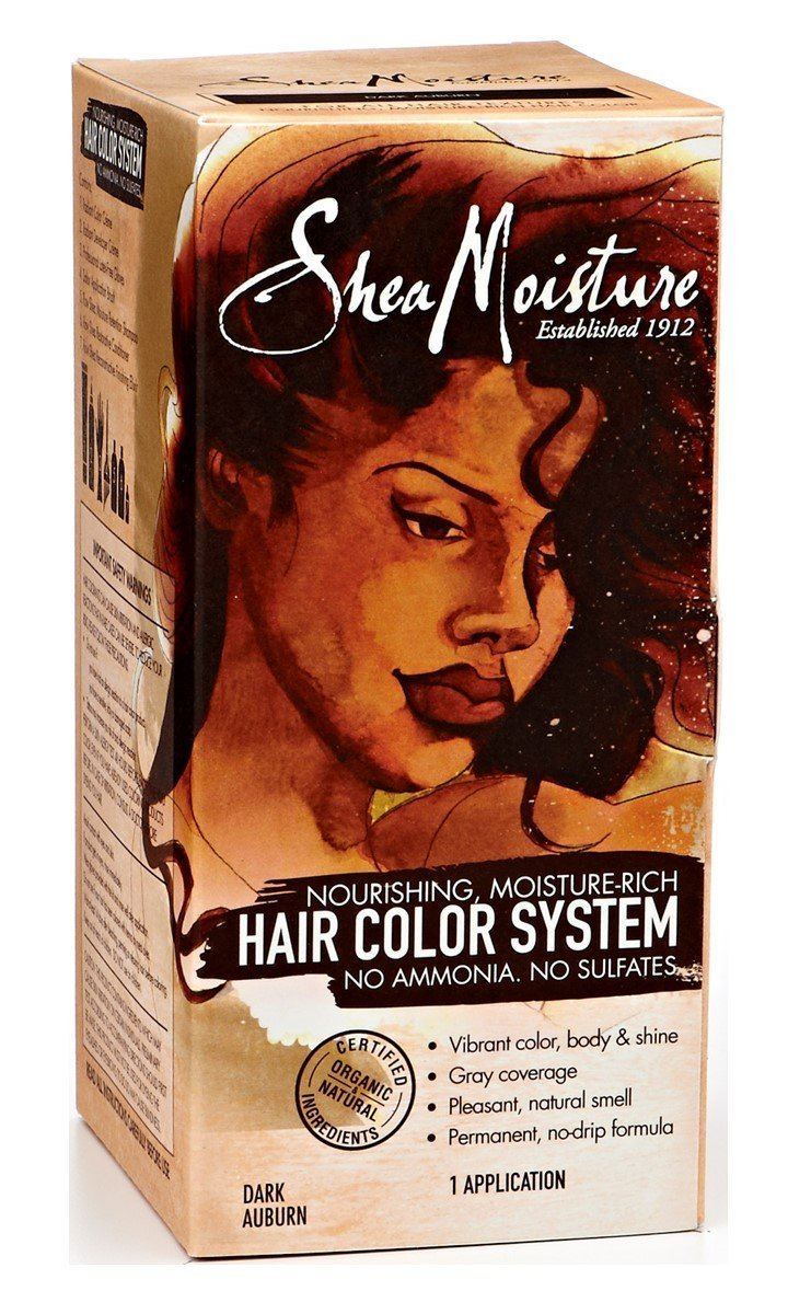 Buy Shea Moisture Bright Auburn Hair Color System In Cheap Price On