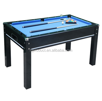 Modern Design Ft Family Use Dining Billiard Pool Table With Bench - Pool dining table with bench