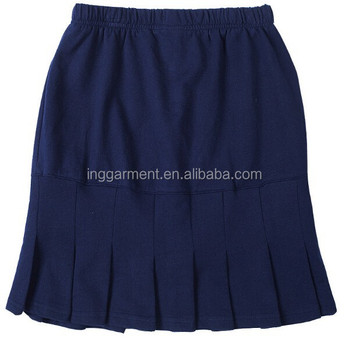a7a436f45 School Uniform Navy Knit Pleated Skirt - Buy School Uniform Navy ...