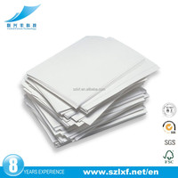 Paper a4 white copy paper 80gsm 76mm*60mm/custom size one layer with back pre-printed advertisment