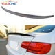 Performance style carbon fiber rear spoiler for BMW 3 series E92 M3 2-door coupe 2006-2013 trunk lip