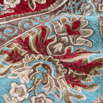 Flower Pattern Upholstery Knitted Jacquard Sofa Chenille Fabric Turkey View Product Details From Tongxiang Tenghui Textile Ltd