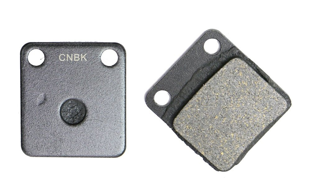 CNBK Front Left Brake Shoe Pads Semi-met fit for SUZUKI ATV LT-Z250 LT-Z 250 Quad Sport 02 03 2002 2003 1 Pair(2 Pads)