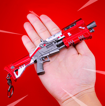 Fortnite Weapons Metal Model Toy Keychain Gun Common Tactical