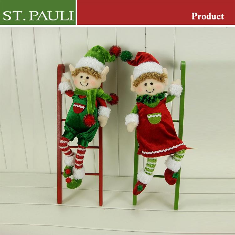 Adornos navide os de madera al por mayor elf escalada - Adornos navidad por mayor ...