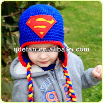 Hand Made Baby Character Crochet Hats Superman Crochet Hat Buy