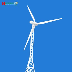 Hot sale!30kw permanent magnet wind and solar hybrid electric generating windmills