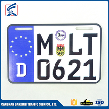 Wholesale Car License Plate Reflective European License Plate With Logo