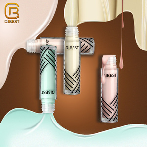 QIBEST Make Up Color Corrector Full Coverage Eye Liquid Concealer For Dark Circles