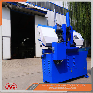 Widely used metal band cutter vertical band saw 2.2kw degree cutting bandsaw