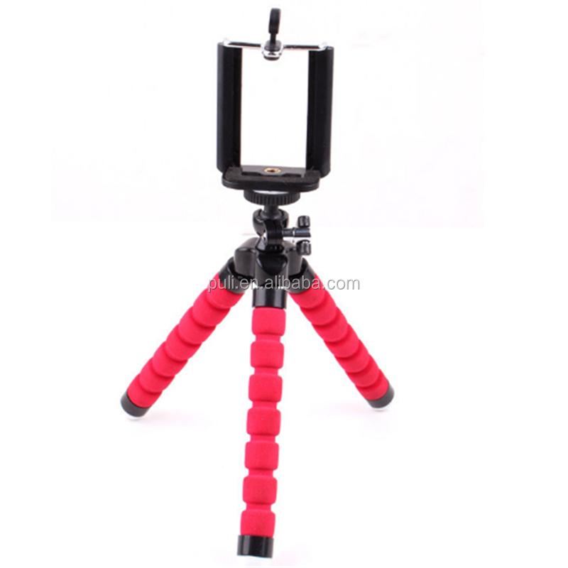Trípode Flexible Pequeño Pulpo Gorillapod para Cámara Digital Teléfono Móvil