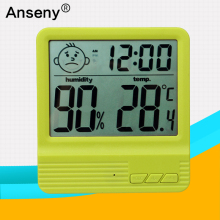 digital max min temperature humidity measure,big screen max min hygrometer thermometer,max min hygrometer thermometer