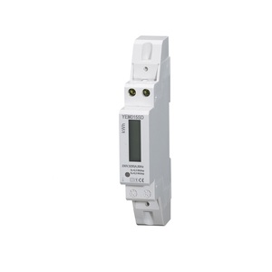 Factory Quality 1p Single Phase Din Rail Electric Power Smart Analog Digital Energy Meter/Kwh Energy Meter/Kilo Watt Hour Meter
