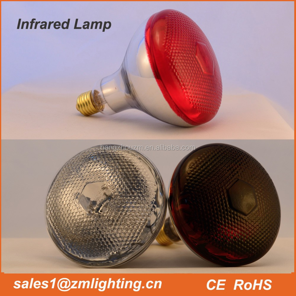 Low Prices red infrared lamp R95 R125 PAR38 100W 150W 175W 200W 250W 275W animal chicken pig pet therapy infrared heating bulb